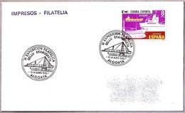 GRUA PORTUARIA - PORT CRANE. Algorta, Vizcaya, Pais Vasco, 1986 - Fábricas Y Industrias