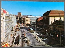 Lausanne Place De La Gare/ Oldtimer Autos - VD Waadt