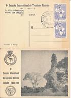 BELGIAN CONGO V°CONGRES INT.DE TOURISME AFRICAIN FDC - Belgisch-Kongo