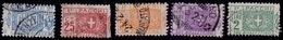 Italy, 1914-17, Parcel Post, Half, Sc#Q8,10,11-13, Used - Postal Parcels