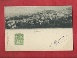 CPA  -  Grasse  -    Cachet De La Poste : 1900 - Grasse