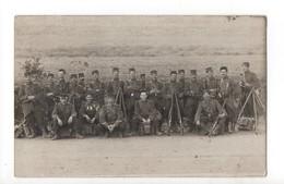 CARTE PHOTO - Militaires Du 53 éme Avec Les Fusils - Regimenten