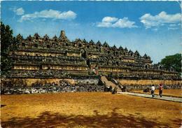 CPM AK 8th Century Borobudur Temple, Central Java INDONESIA (726919) - Indonesien