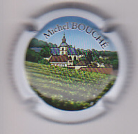 Capsule Champagne BOUCHE Michel ( 1 ; Personalisée Contour Blanc ) {S15-20} - Champagne