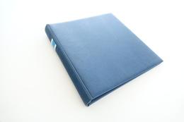 Israel Album - Lindner Album, Blue, 18 Rings, Format 5x30x32cm - Albums à Bandes