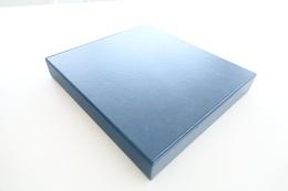 Israel Album - Lindner Album Case, Blue, Format 5x30x32cm - Classificatori