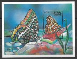 MALDIVES MALDIVAS 2001 BUTTERFLIES  MNH - Schmetterlinge