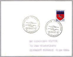 Exposicion Filatelica - MANOS - HANDS. Gentilly 1967 - Philatelic Exhibitions