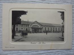 CP-Corbeil (91) La Gare, Divisé, Neuve - Corbeil Essonnes