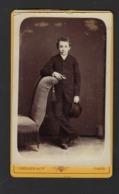 CDV * COMMUNICANT * JONGEN * FOTO CORNAND & CIE * GAND * RUE DE LA CORNE * KORENMARKT GENT * 1878 1886 - Personnes Anonymes