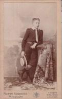 MALINES MECHELEN LEUVEN ANVERS Photo CDV Jeune Garçon Vers 1890-1900 Par Pierre KOEKKOEK Edouard LE MAIRE - Anciennes (Av. 1900)