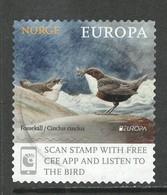 Noorwegen 2019, Yv 1932, Europa Cept,  Hoge Waarde, Gestempeld - Norvège