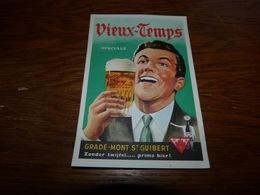 Carte Postale Publicitaire Carte De Commande Vieux-Temps Grade Mont Saint Guibert - Publicité