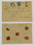Busta Di Lettera Raccomandata Per Mantova Anno 1875 - Marcophilia