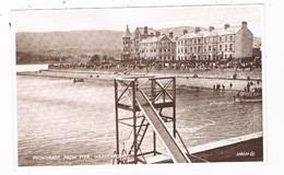 UK-3337   WARRENPOINT : Promenade From Pier - Down