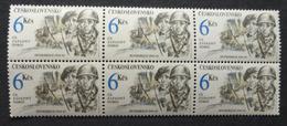 1992 Czechoslovakia Block X 6 Mint/MNH Stamps-Capture Of Dunkirk  No J-637 - Nuovi