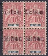 Réunion    Colis Postaux Bloc De 4  N°4** - Reunion Island (1852-1975)
