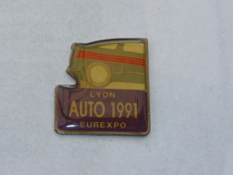 Pin's AUTO 1991, EUREXPO A LYON - Pin's