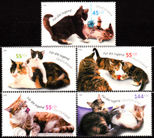 GERMANY 2004, FAUNA, CATS, COMPLETE, MNH SET In GOOD QUALITY, *** - [7] Repubblica Federale