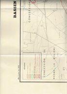 Mines, Mine : Environs De Saint-Etienne - La Ricamarie - (42) Loire - Atlas - Puits De Mine - Couches De Charbon - Autres Plans