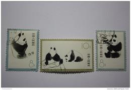 Original  CHINA - KINA - GIANT PANDA S59 - WWF - 1963  - Both Sides - - 1949 - ... République Populaire
