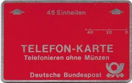 Germany - L&G Frankfurt Field Trial, Cn. R1 093398, 45U, Mint - T-Series : Tests