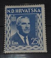 NDH EXILE- LOMAS DEL PALOMAR 1957. MNH - Kroatië