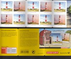 Deutschland BRD ** 2682-2683 Leuchttürme   MH 75     Skl Postpreis 5,50 - [7] Repubblica Federale