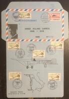 France - Aérogramme - Année Roland Garros - 1988 - Poststempel (Briefe)