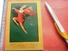 1 PUB Chocolat CEMOI (Cémoi ) Dauphin & VALISERE, Litho Card Folded DEPLiANT C1924, Henry Le MONNIER LUTETIA - Other