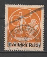Deutsches Reich / 1920 Ff. / Mi. 136I Gestempelt (AN09) - Usados
