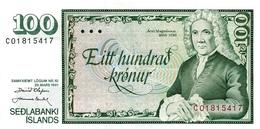ICELAND P. 50a 100 K 1985 UNC - IJsland