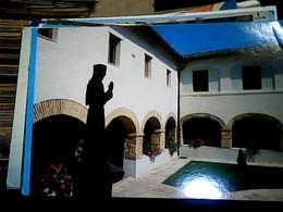 2 CARD SANTUARIO FRANCESCANO FONTECOLOMBO N1975 HN7095 - Rieti