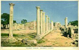Cyprus, SALAMIS, Marble Forum (1960s) Raphael Tuck 115 Postcard - Chypre
