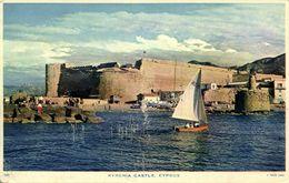 Cyprus, KYRENIA, Castle (1961) Raphael Tuck 109 Postcard - Chypre