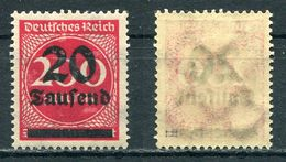 Deutsches Reich Michel-Nr. 282II Postfrisch - Geprüft - Deutschland
