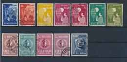 VIET NAM DU SUD - N°87/98 OBLITERES - 1958 - Viêt-Nam