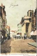 CHARLEROI - Rue De Marchienne Et Eglise St-Antoine - Carte Précurseur Ayant Circulé - Charleroi