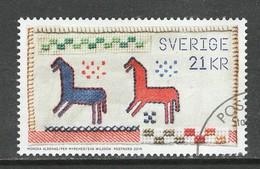 Zweden 2019, Yv 3245 Tanding 14, Uit Boekje, Zeer Moeilijke Waarde, Gestempeld - Suède