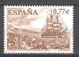 Spain 2004 - Vacuna De La Viruela Ed 4131  (**) - 1931-Today: 2nd Rep - ... Juan Carlos I