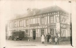 LES VENTES CARTE PHOTO 1933  EPICERIE LE BAIL ECRITE ET SIGNEE PAR LE BAIL PROPRIETAIRE - Other Municipalities