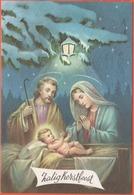 Cartoline - Tematica - Cristianesimo - 1F Belgio - De Zon In De Nacht - Zalig Kerstfeest - Viaggiata Da Erembodegem Per - Altri