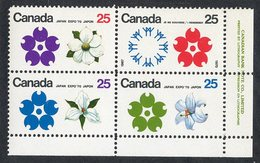 C- 177  Canada 1970 Scott# 508/11a** (cat.$15.) - 1952-.... Elizabeth II