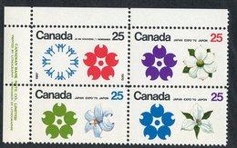 C- 179  Canada 1970 Scott# 508/11a** (cat.$15.) - 1952-.... Elizabeth II