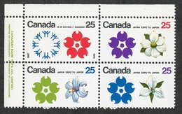 C- 181  Canada 1970 Scott# 508/11a** (cat.$15.) - 1952-.... Elizabeth II