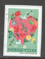 Zweden 2019, Yv  Hoge Waarde,  Op Papier,  Gestempeld - Suède