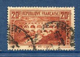 France - YT N° 262 - Oblitéré - 1929 à 1931 - Oblitérés