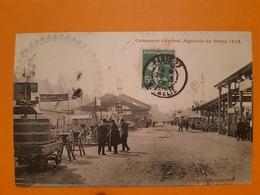 CPA - PARIS - 1902 Concours Général Agricole - Pub Amouroux Toulouse PublicitéMachine Engin - Altri