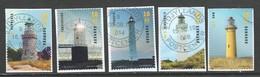 Denemarken 2019, Yv 1928-32 Reeks, Vuurtorens - Leuchturm - Phares, Gestempeld - Danemark