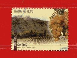 Italia °- 2015 - Made In Italy VINI DOCG - GAVI. Unif. 3688. Usato - 2011-...: Oblitérés